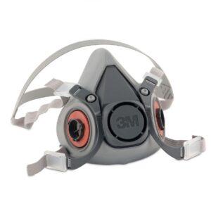 3M 6000 Series Reusable Respirator Half-Face Face Piece