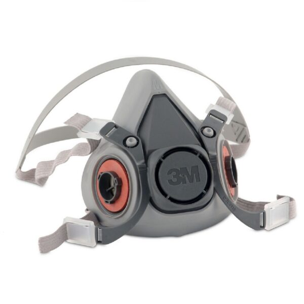 3M 6000 Series Reusable Respirator Half-Face Face Piece