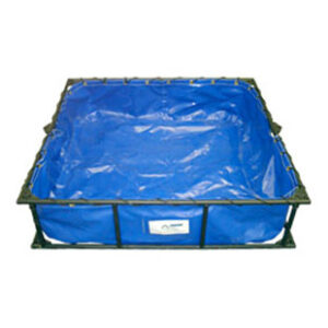 Huskey Folding Frame Decontamination Pool from SR&FS