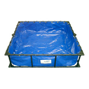 Huskey Folding Frame Decontamination Pool from SR&FS